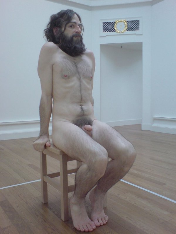 ��������� ��������� � ������� Ron Mueck
