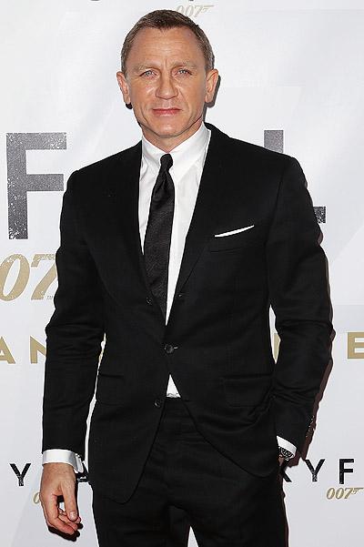 Дэниел Крейг - самый стильный мужчина 2012 года