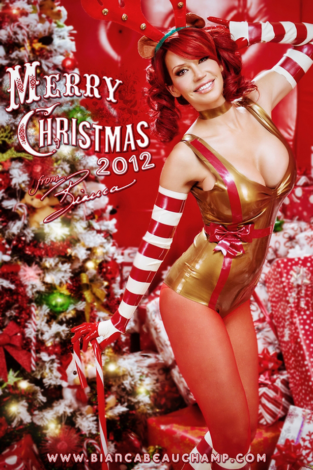 Bianca Beauchamp и Рождественский латекс