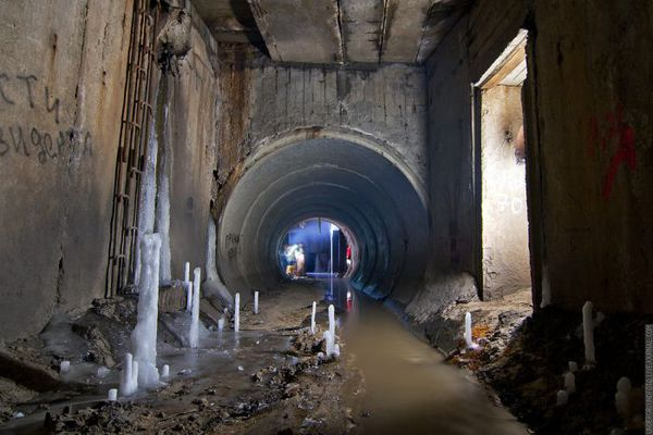 Московские подземелья
