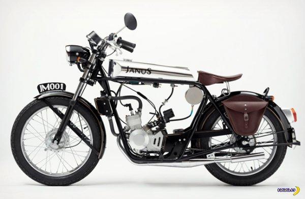Janus выпустила мотоцикл для хипстера