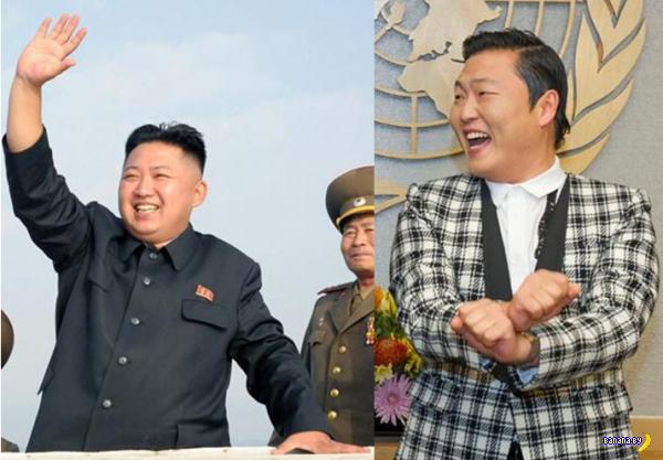 """Ким Чен Ын опережает репера Psy в голосовании Time на """"человека года"""""""