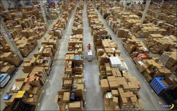 Склады компании Amazon