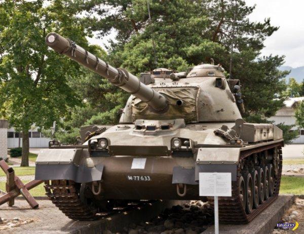 Музей танков в Швейцарии