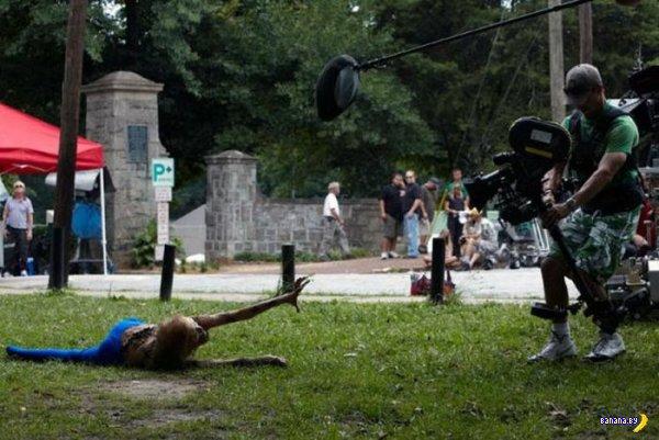 """И еще фото со съемок """"Ходячих мертвецов"""""""