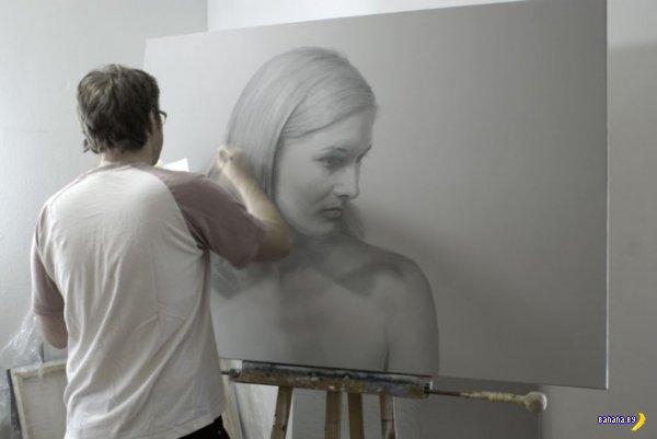 Фотореалистичные рисунки карандашами