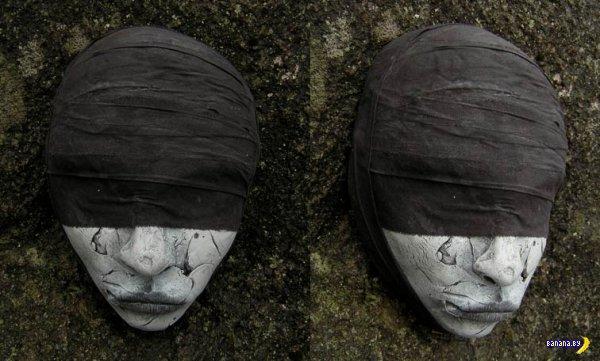 Жуткие маски