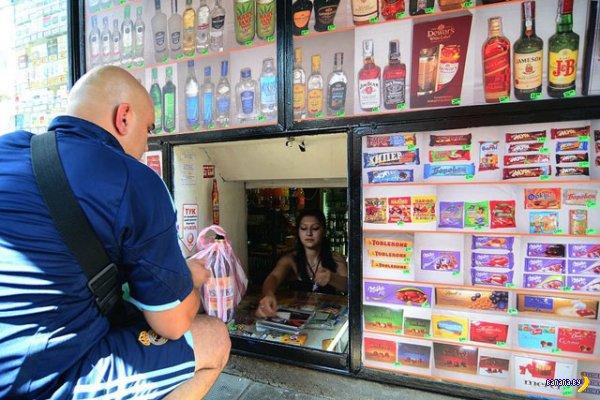 Болгарские магазины на корточках