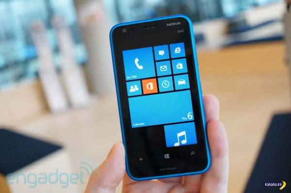 Nokia Lumia 620 под Windows Phone 8