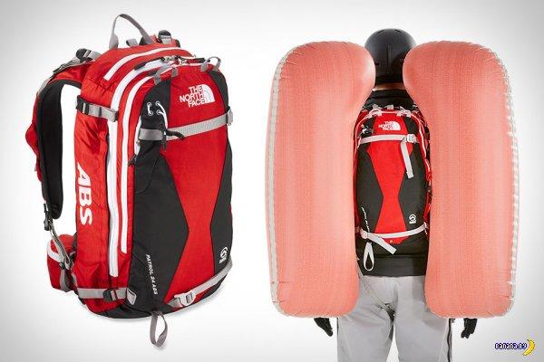 Рюкзак спасет от снежной лавины