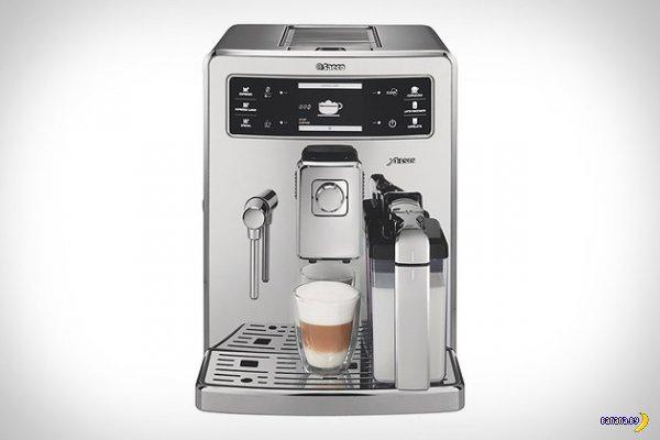 Кофемашина со сканером отпечатков пальцев
