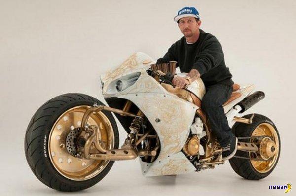 Мотоцикл для стимпанка