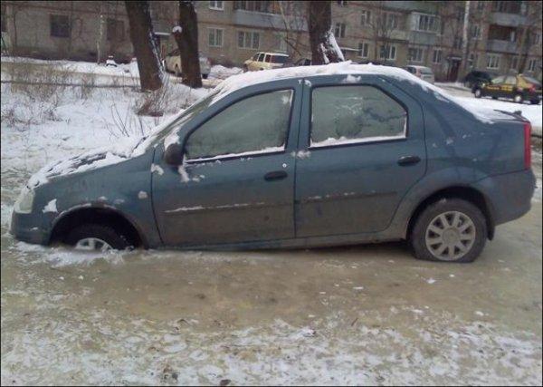Парковка до весны