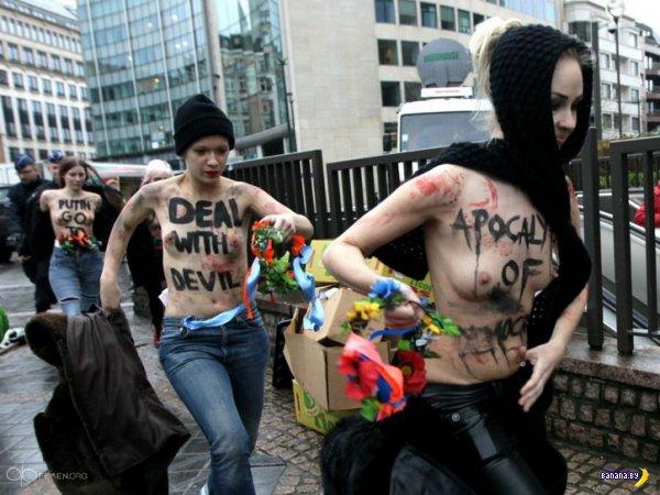 ����� Femen ������ ������� ������-��