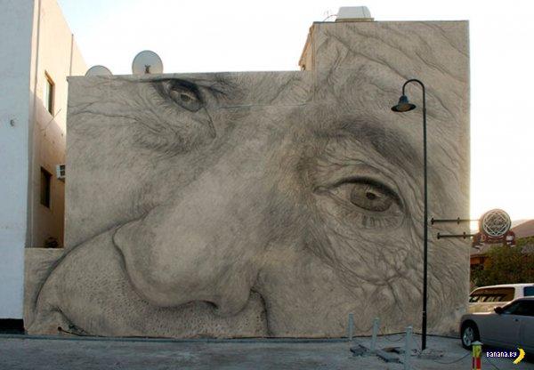 Лучший стрит-арт 2012