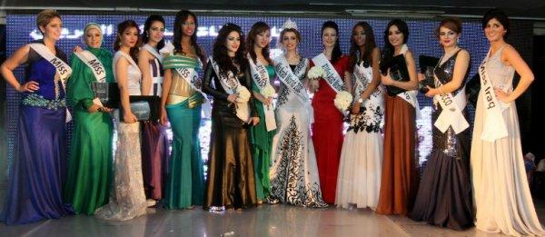 В Гизе выбрали королеву красоты арабского мира