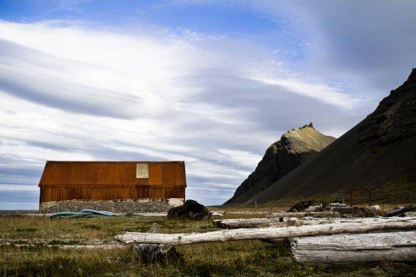 Заброшенные дома в Исландии