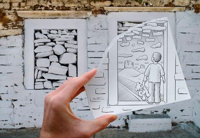 Дорисованная реальность Бена Хейна