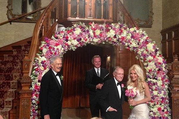 Свадьба Хью Хефнера: первые фото