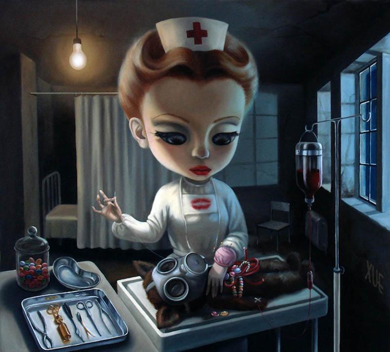 Игрушечные ужасы в работах Сюэ Ван