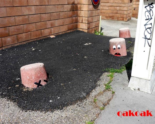 Городское вторжение OaKoAk