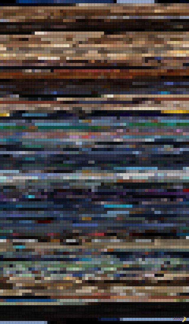 Spotmaps - цветовые схемы фильмов