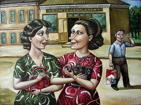 Картины Анжелы Джерих