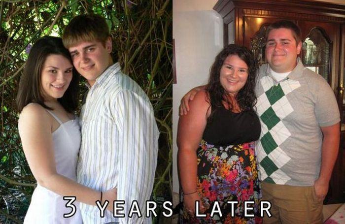 Три года семейной жизни