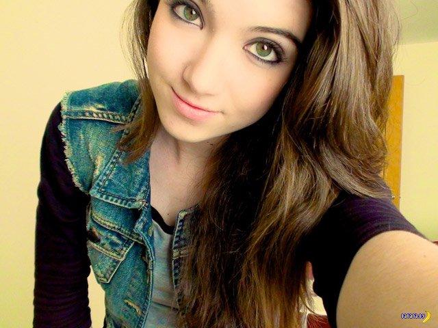 Милые и красивые лица девушек
