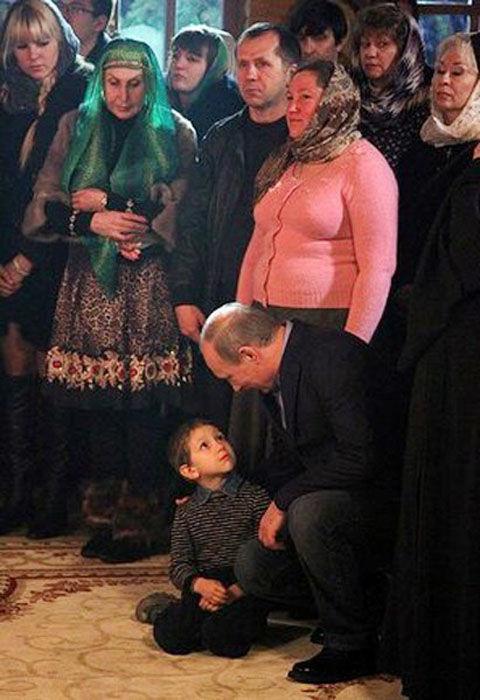 Что Путин сказал мальчику?