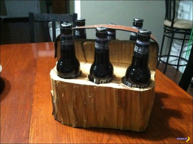 Переноска для пива своими руками