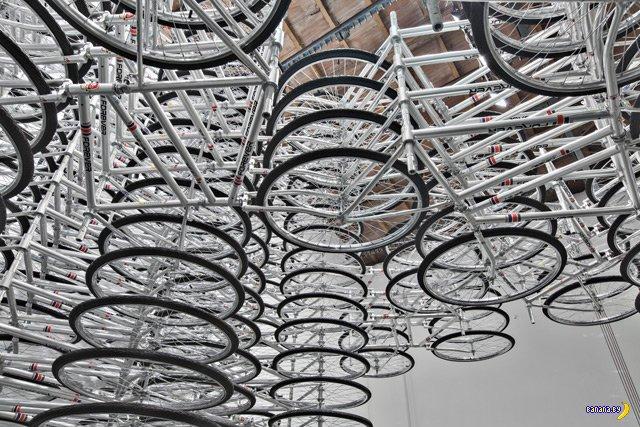 Креатив с велосипедами