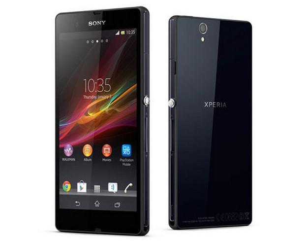 Sony Xperia Z - полная водонепроницаемость