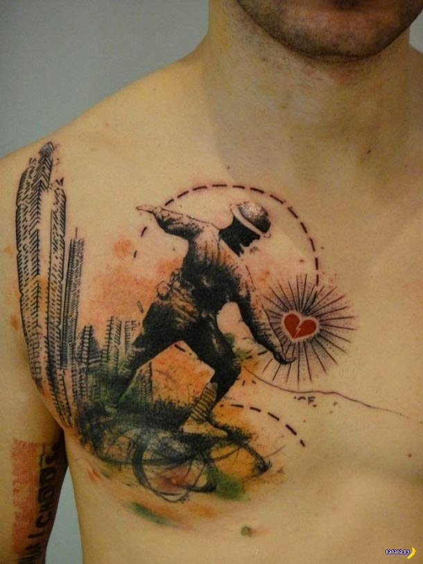 19 действительно крутых татуировок