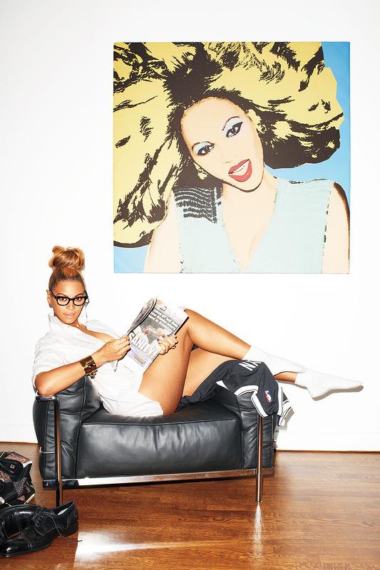 Beyonce для журнала GQ