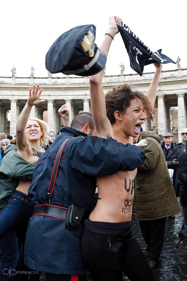 ���������� Femen ������� ���������� ����� ���� ��������