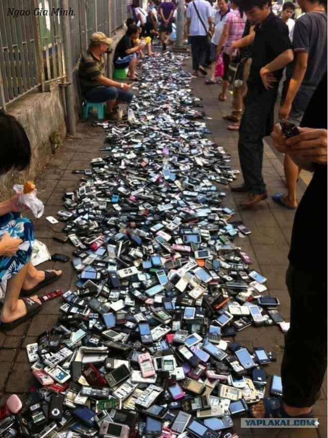 Салон мобильных телефонов в китайском стиле