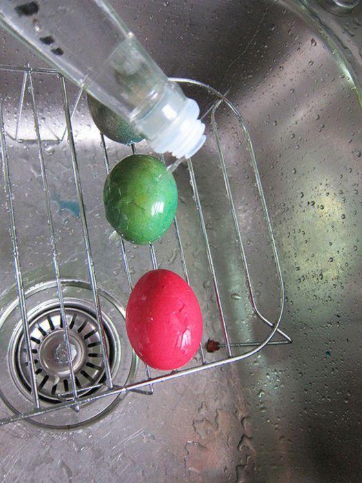 Необычные вареные яйца