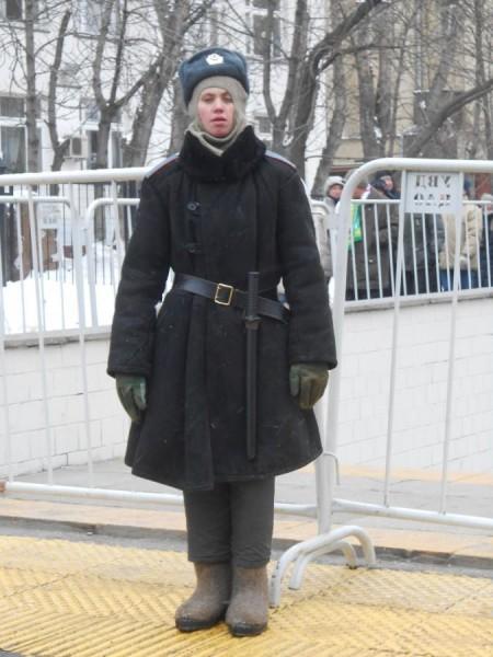 Российский полицейский, 2013 год