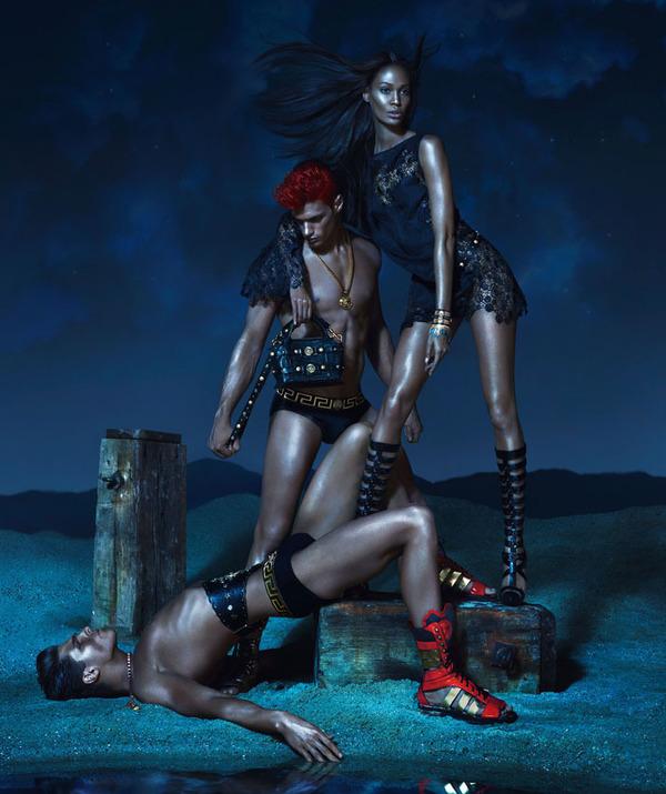 Реклама Versace 2013