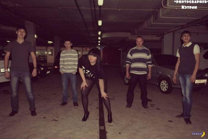 Убийственный гламур: уфимские девушки и тачки