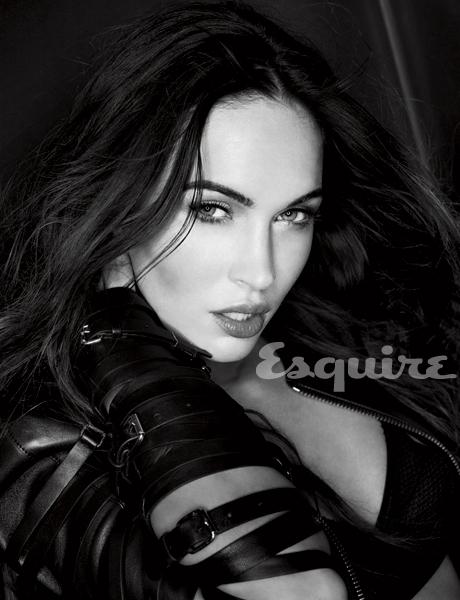 Меган Фокс в февральском Esquire