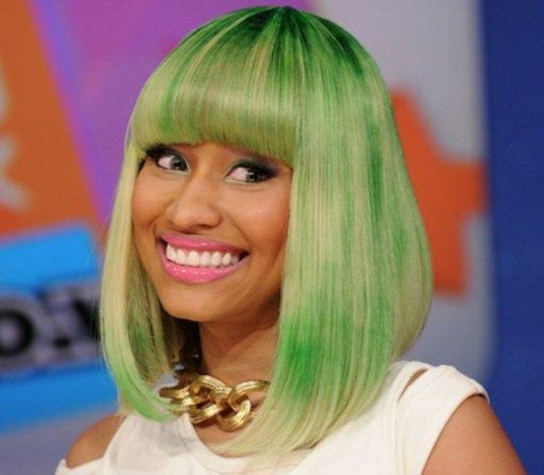 Разнообразие на голове Nicki Minaj