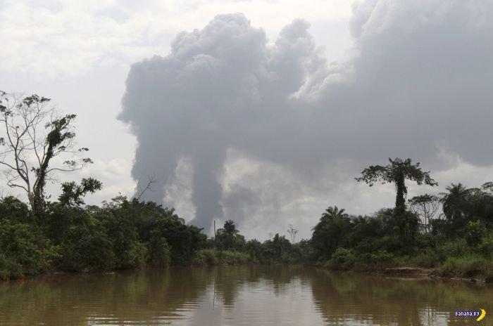 Как в Нигерии на ворованной нефти зарабатывают