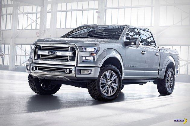 Концепт пикапа Ford Atlas
