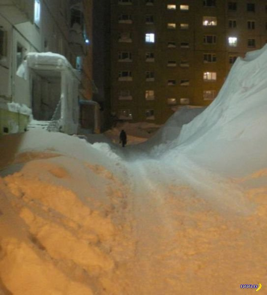 Снег, что ты делаешь? Ха-ха-ха! Прекрати!