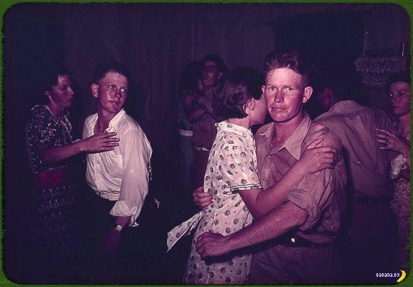 Америка сороковых годов в цвете