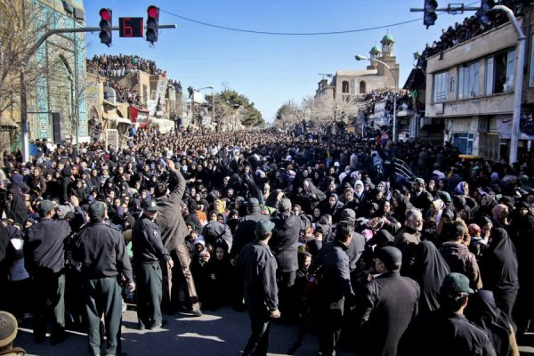 Публичная порка в Иране