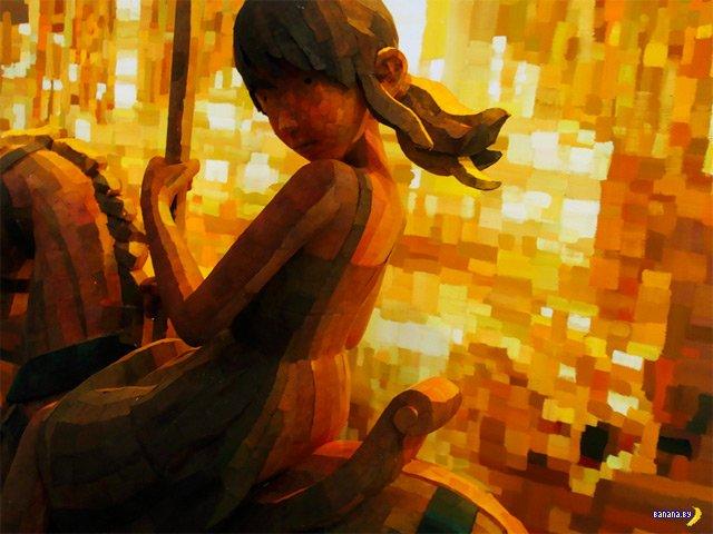 Трехмерные рисунки Шинтаро Охата
