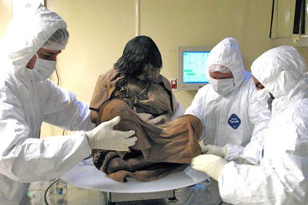 Нашли девочку которой 500 лет